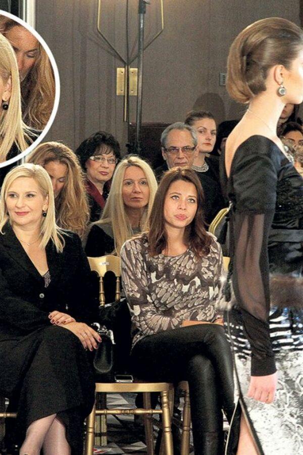 IZA KULISA REVIJE: Zorana Mihajlović umesto modela gledala ko sedi oko nje