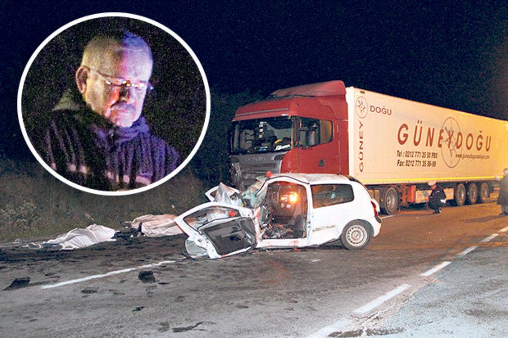 NIJE KRIV ZA NESREĆU KOD RESNIKA: Turčin vozač šlepera pušten iz pritvora!