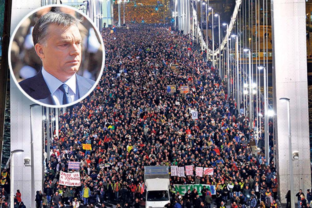 Mađari ruše premijera Orbana zbog interneta