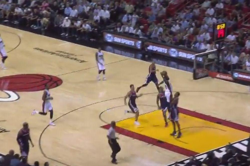 (VIDEO) POČELO JE, POČELO: Prvo monstruozno kucanje u ovoj sezoni NBA lige