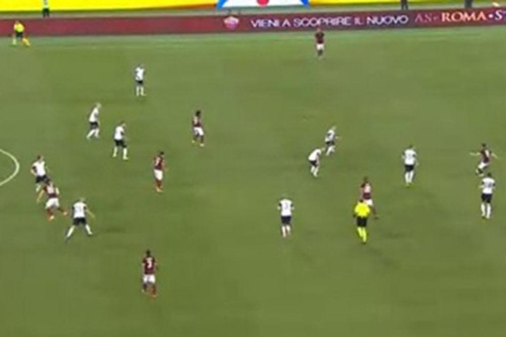 (VIDEO) MAJSTORIJA: Miralem Pjanić jednim dodavanjem izbacio iz igre ceo tim Ćezene