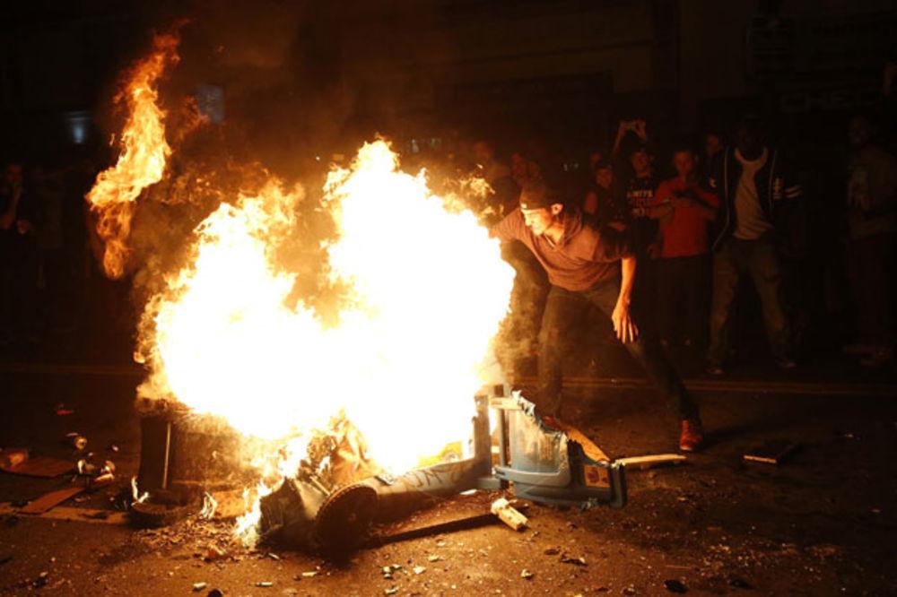 (VIDEO) HAOS U SAN FRANCISKU: Džajantsi osvojili titulu, navijači razorili grad