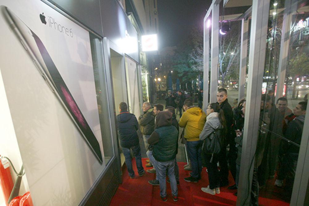 Počela prodaja Ajfona 6 u Srbiji