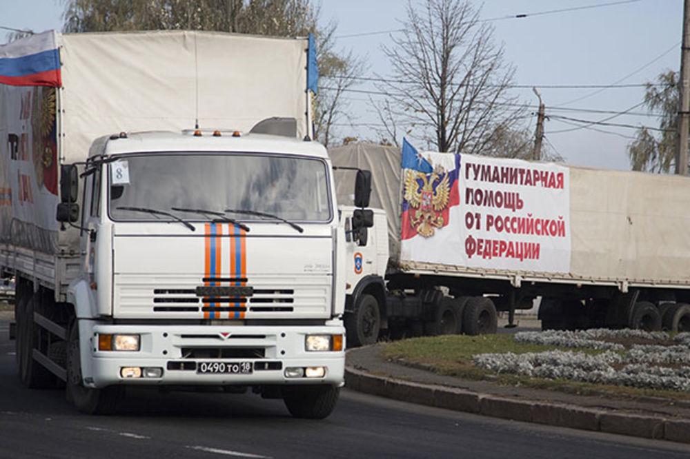 STIGLA POMOĆ: Ruski humanitarni konvoj stigao u Lugansk i Donjeck