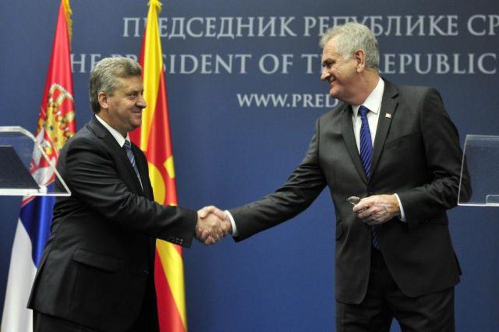 Nikolić i Ivanov: Srbija zahvalna Makedoniji na pomoći tokom poplava
