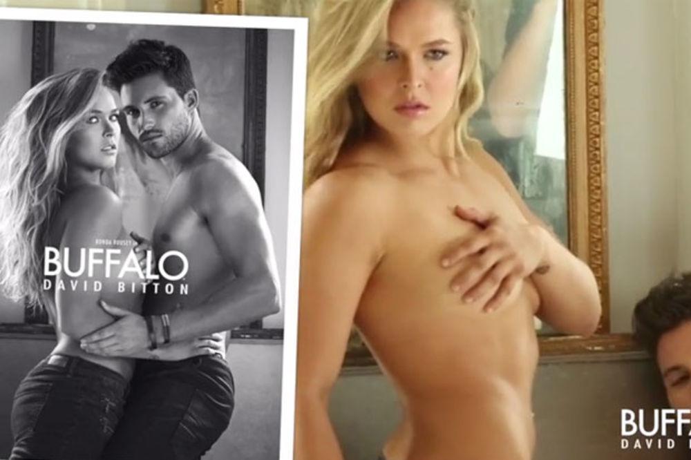 (VIDEO) SEKS BOMBA: UFC šampionka snimila provokativnu reklamu!