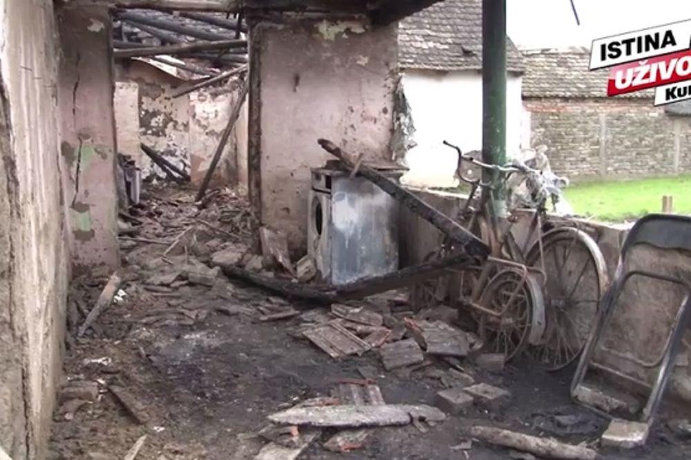 (VIDEO) Sahranjen čovek koji je u Debeljači zapalio kuću pa se obesio