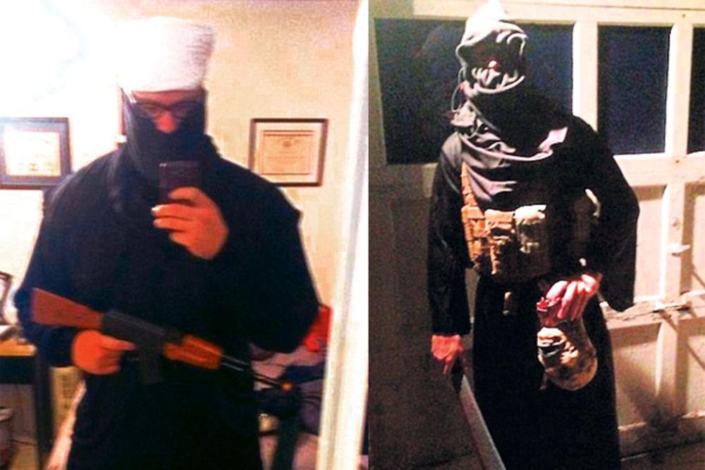 NOĆ VEŠTICA: Poziraju sa noževima i odsečenim glavama