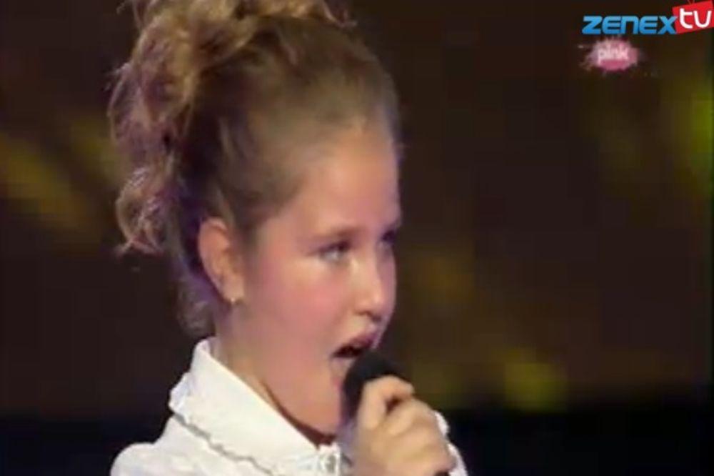 (VIDEO) MALA DIVA OPET BLISTA: Lenu (10) žiri hvalio, ona nezadovoljna!