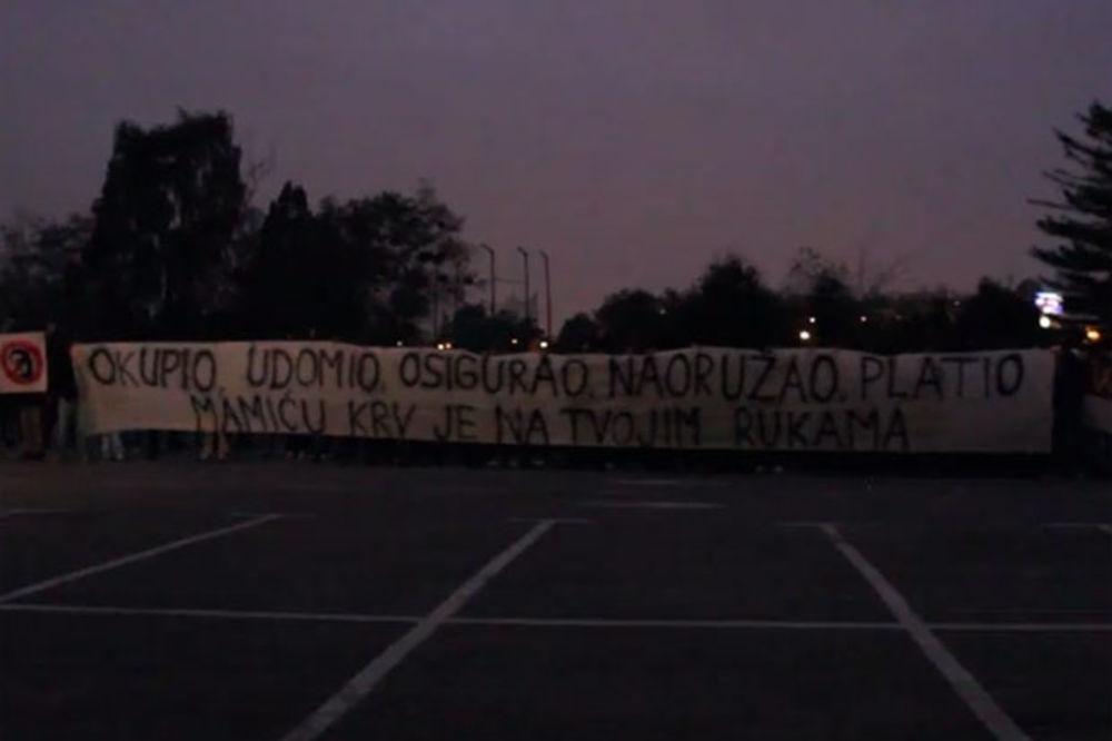 (VIDEO) BOJSI VREĐALI PRVOG ČOVEKA DINAMA: Mamiću, Srbine, krv je na tvojim rukama!