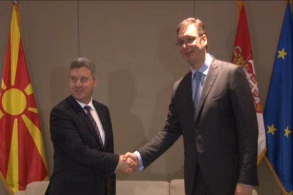 SUSRET NA TRILATERALI: Vučić i Ivanov o evropskom putu regiona