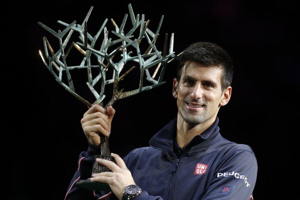 TATA NOLE KRALJ PARIZA: Đoković savladao Raonića i osvojio 20. Masters titulu u karijeri