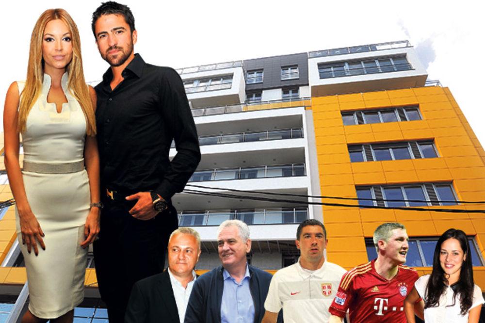 Tipsarević se useljava u zgradu Tome Nikolića
