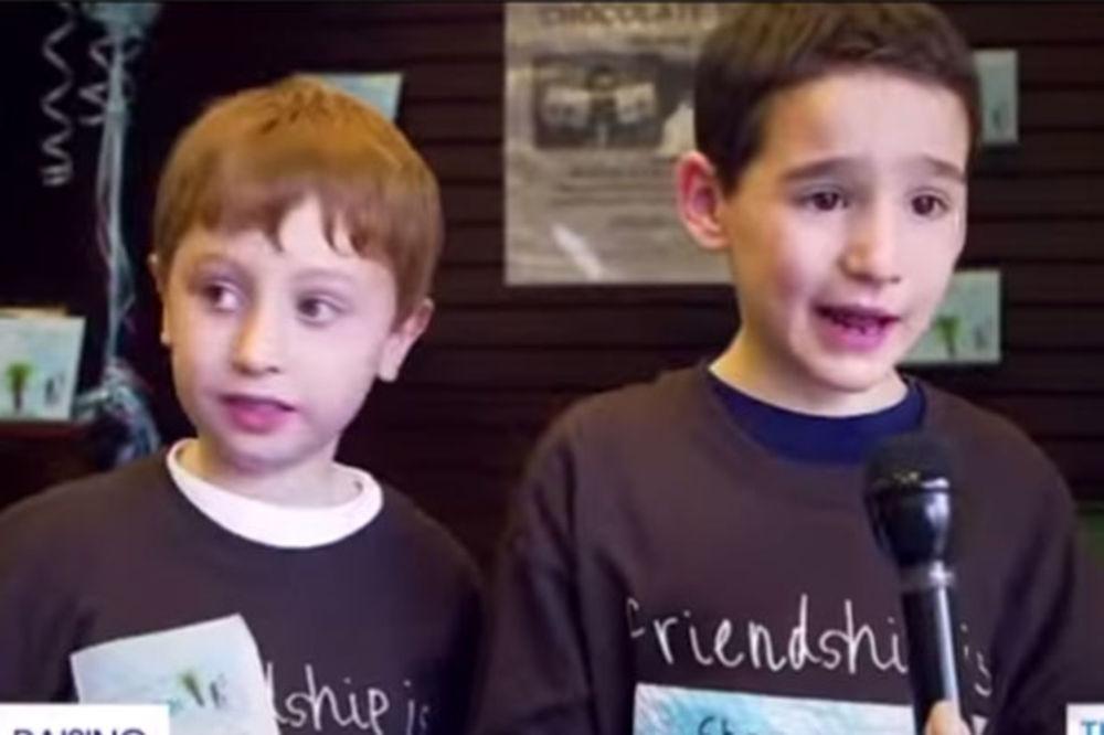 (VIDEO) EVO ZAŠTO IMA NADE ZA OVAJ SVET: Dečak (6) napisao slikovnicu da pomogne bolesnom drugaru