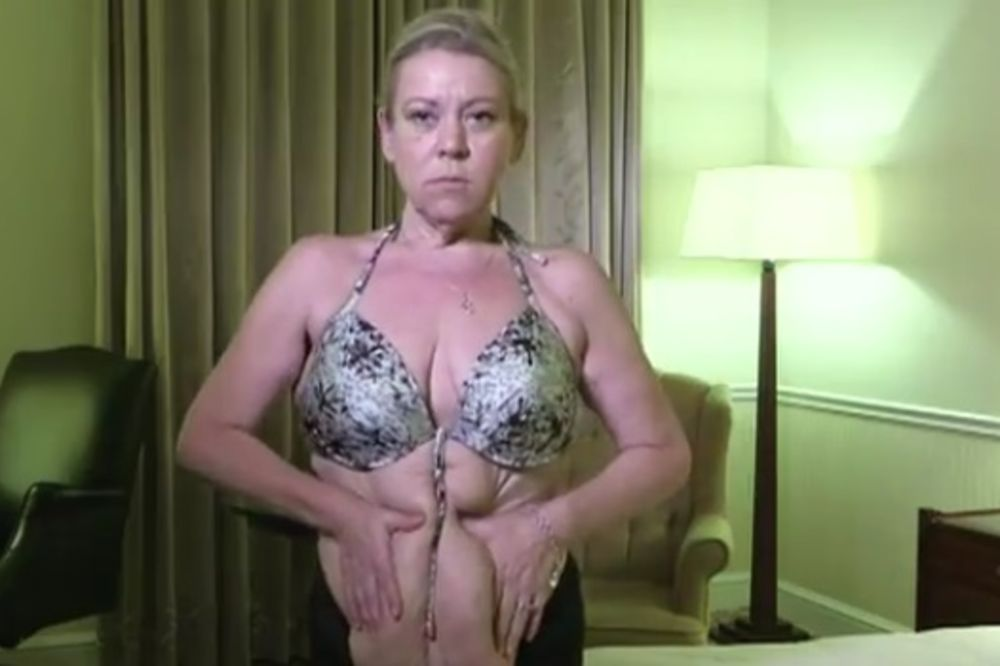 (VIDEO) GLUMICA (51) SMRŠALA 72 KG: Sad mogu grudi da vežem oko struka!