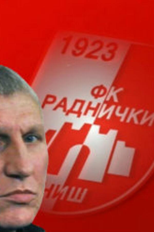 POKUŠAJ ATENTATA: Ranjen predsednik niškog Radničkog Zoran Banković