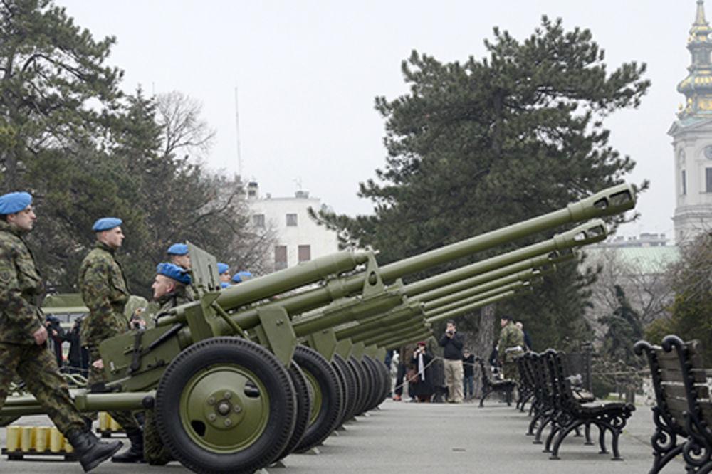DANI BEOGRADA: Počasna artiljerijska paljba na Kalemegdanu