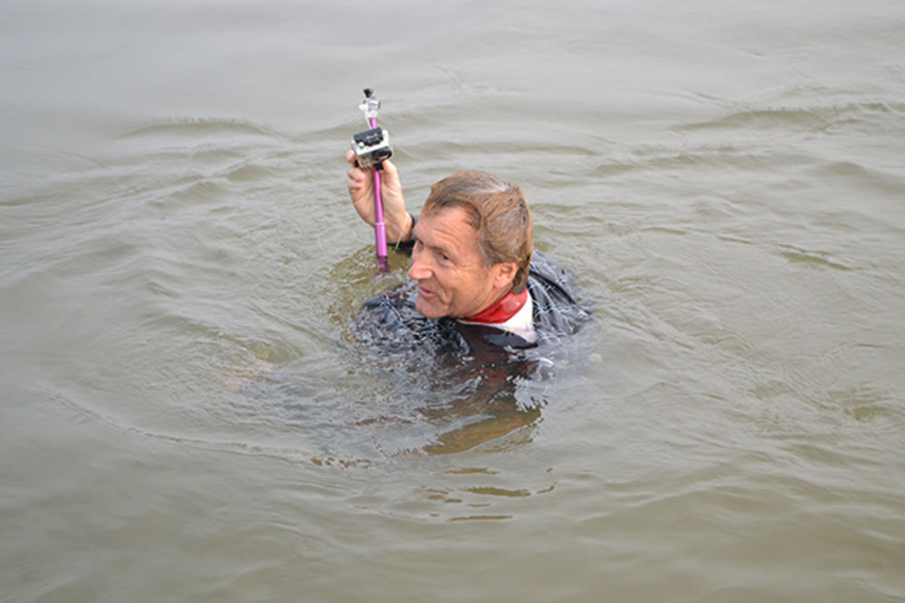 (VIDEO) Pogledajte kako je Dane Gegoj skočio sa mosta Zemun-Borča!