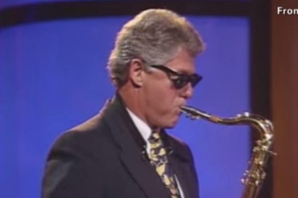POHVALE: Bilu Klintonu nagrada za podršku džezu