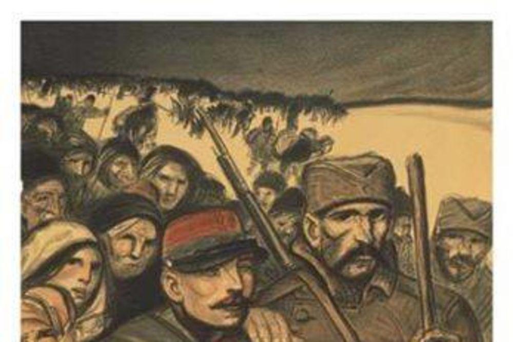 VELIKI RAT NA PLAKATIMA: Amerika se borila za spas Srbije, Englezi štampali postere Kraljevića Marka