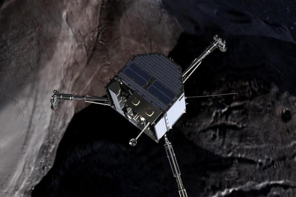 (VIDEO UŽIVO) STVARANJE ISTORIJE: Gledajte kako čovek prvi put spušta sondu na kometu!