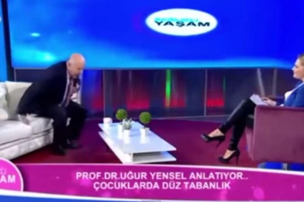 (VIDEO) INFARKT UŽIVO: Lekar doživeo srčani udar u TV emisiji!