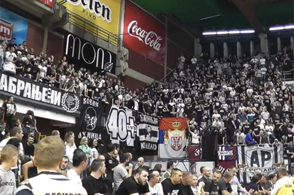 (VIDEO) Pogledajte kako navijači Partizana najavljuju utakmicu protiv Crvene zvezde