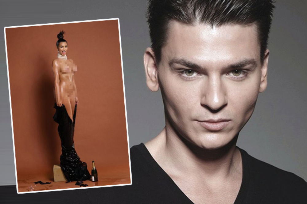 UPALA MU KAŠIKA U ULJE: Ovo je Crnogorac koji je mazao Kim kad se slikala gola!