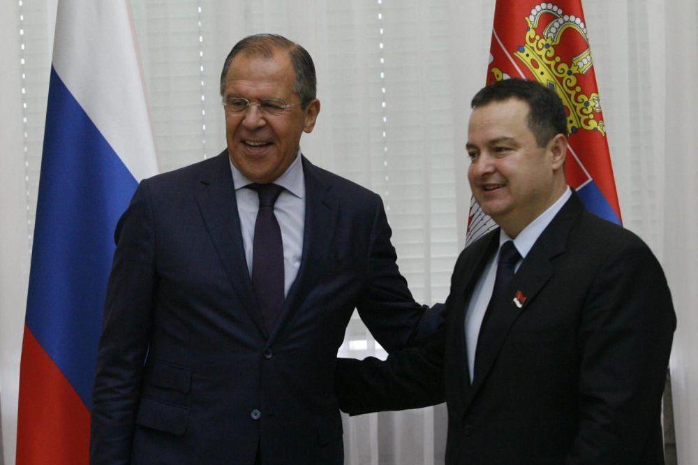 DAČIĆ S LAVROVIM U NJUJORKU: Rusija i Srbija posvećene stratešškom partnerstvu
