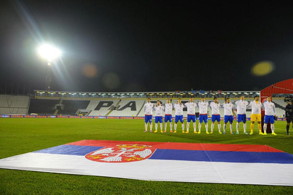 SVE PO STAROM: Srbija zadržala 46. mesto na rang listi Fifa