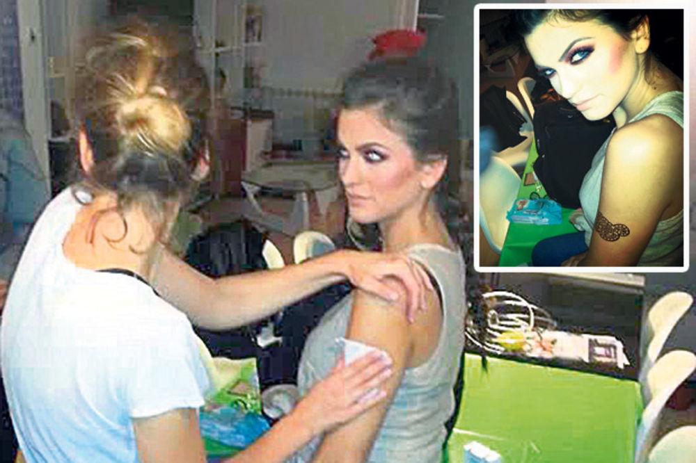 HIT: Milica Pavlović uradila tetovažu od čistog zlata!