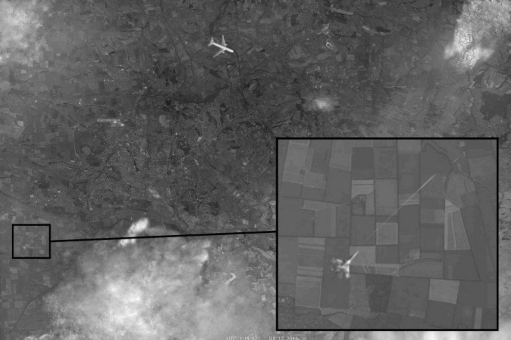 (VIDEO) RUSI OBJAVILI: Pogledajte kako je lovački avion oborio malezijski boing iznad Ukrajine!