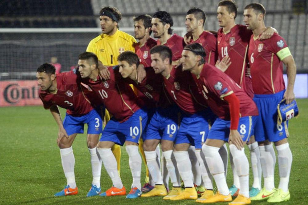ORLOVI SKOČILI OSAM MESTA: Srbija 38. na rang listi FIFA