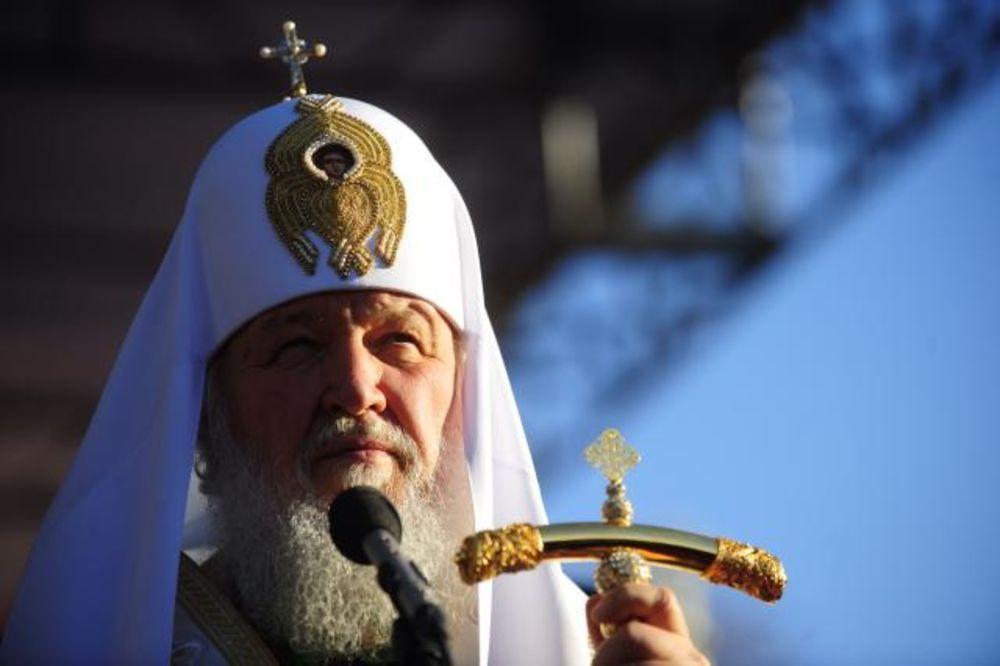 HRAM SVETOG SAVE: Zajednička liturgija patrijarha Kirila i Irineja