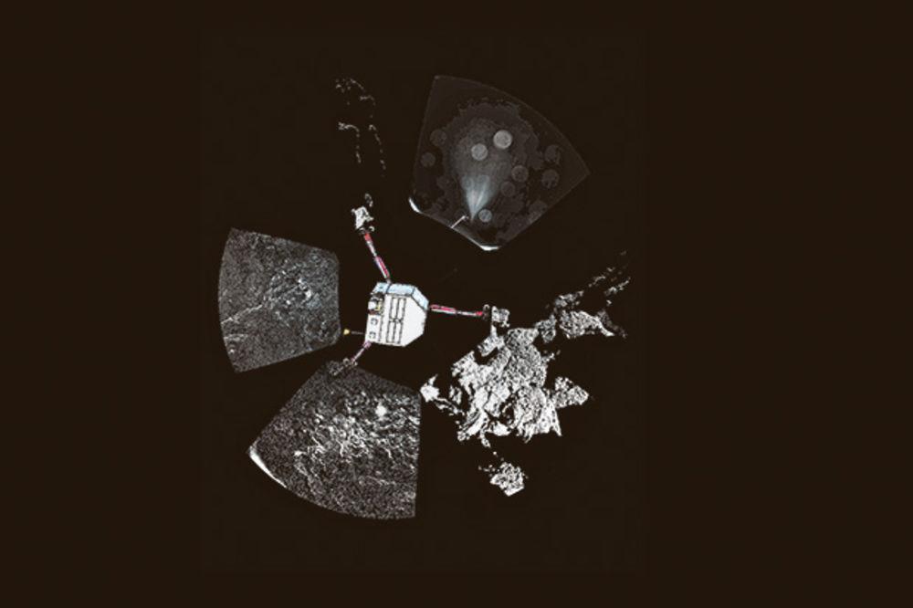 FILE UMRO: Robotska sonda na kometi ostala bez napajanja!