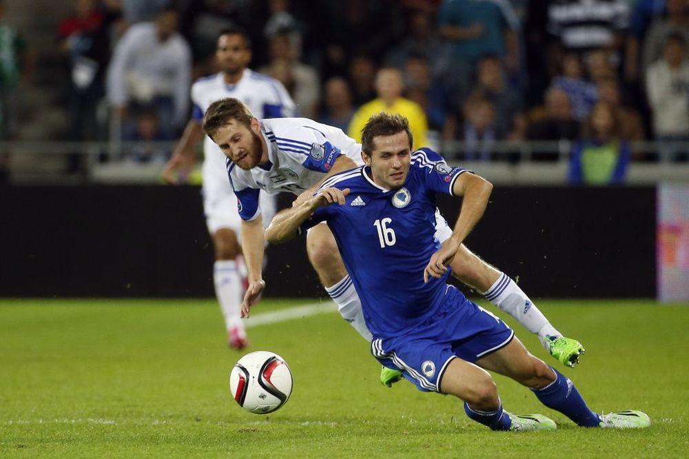 (VIDEO) DEBAKL BOSNE: Izraelci ispratili tim Safeta Sušića sa tri gola u mreži