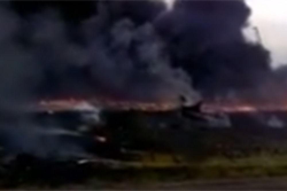 (VIDEO) ŠOKANTAN SNIMAK: Pogledajte pad malezijskog boinga u Ukrajini!