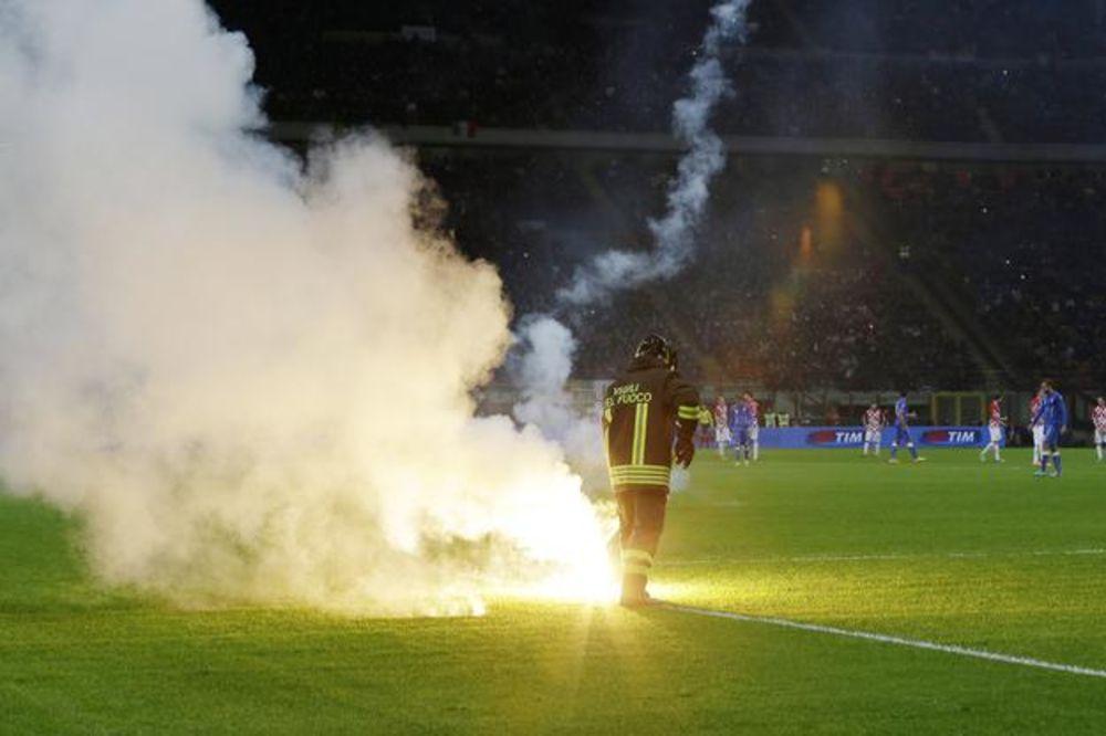 ČEKA SE KAZNA UEFA: Hrvatskoj preti sudbina Srbije