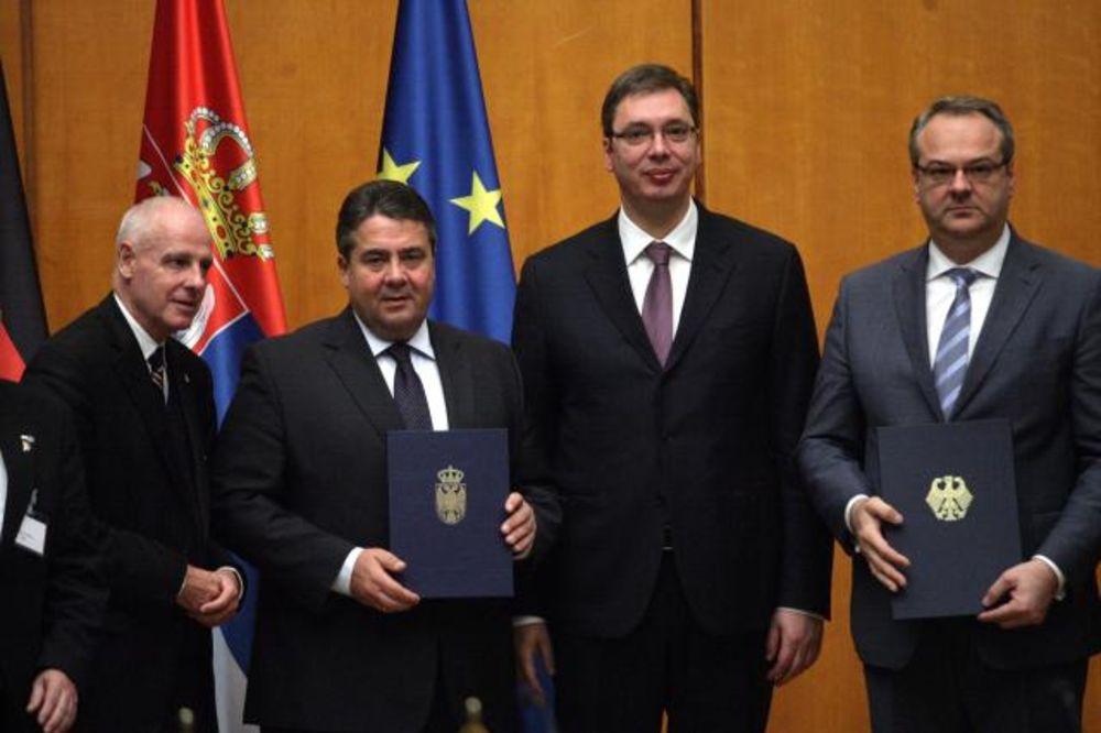 (VIDEO) POSLOVNI SAVET SRBIJA-NEMAČKA: Vučić i Gabrijel otvorili sednicu