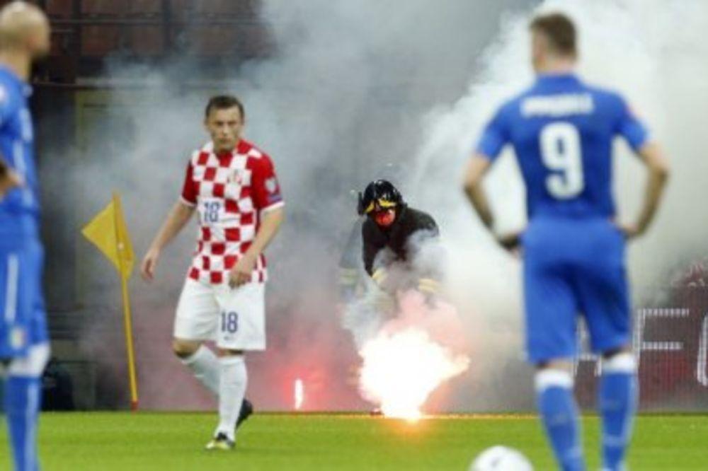 DAN POSLE DIVLJANJA: Hrvatski huligani pred sudom u Milanu