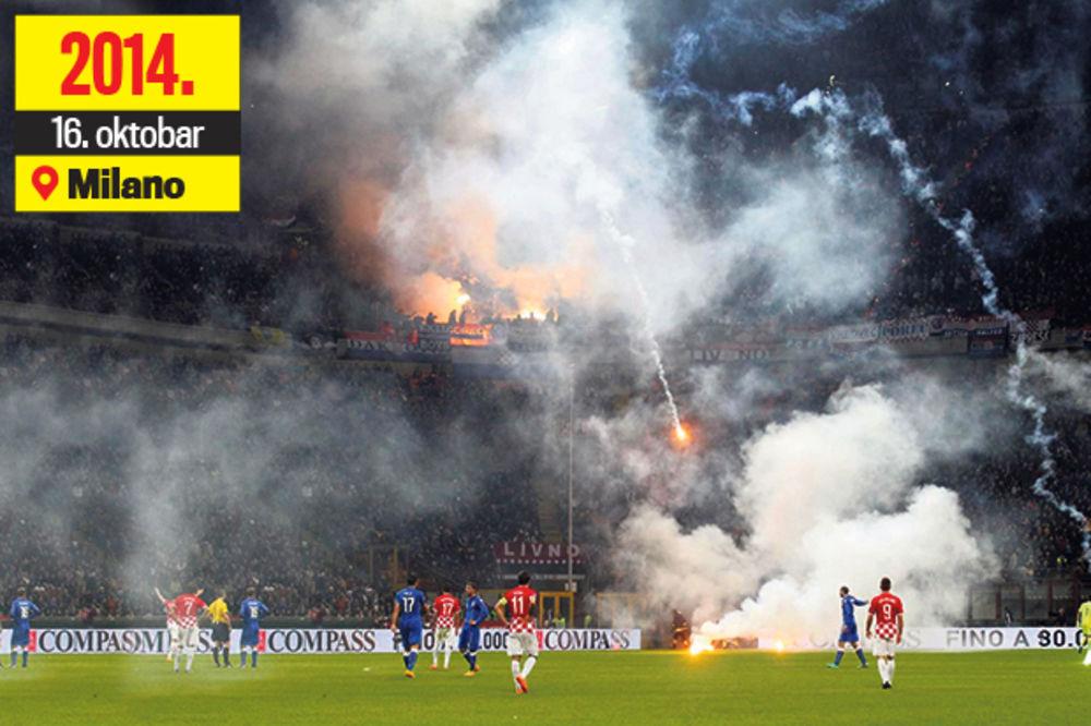 DVOSTRUKI ARŠINI UEFA: Hrvate miluju, Srbe siluju!