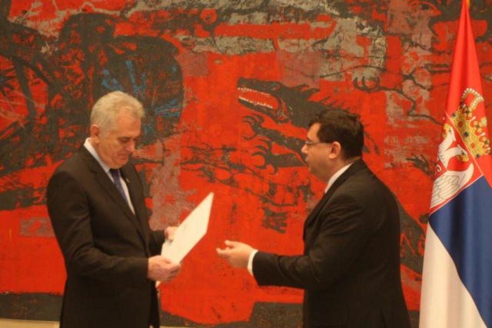 PRIMA AKREDITIVE: Nikolić danas sa 6 novih ambasadora