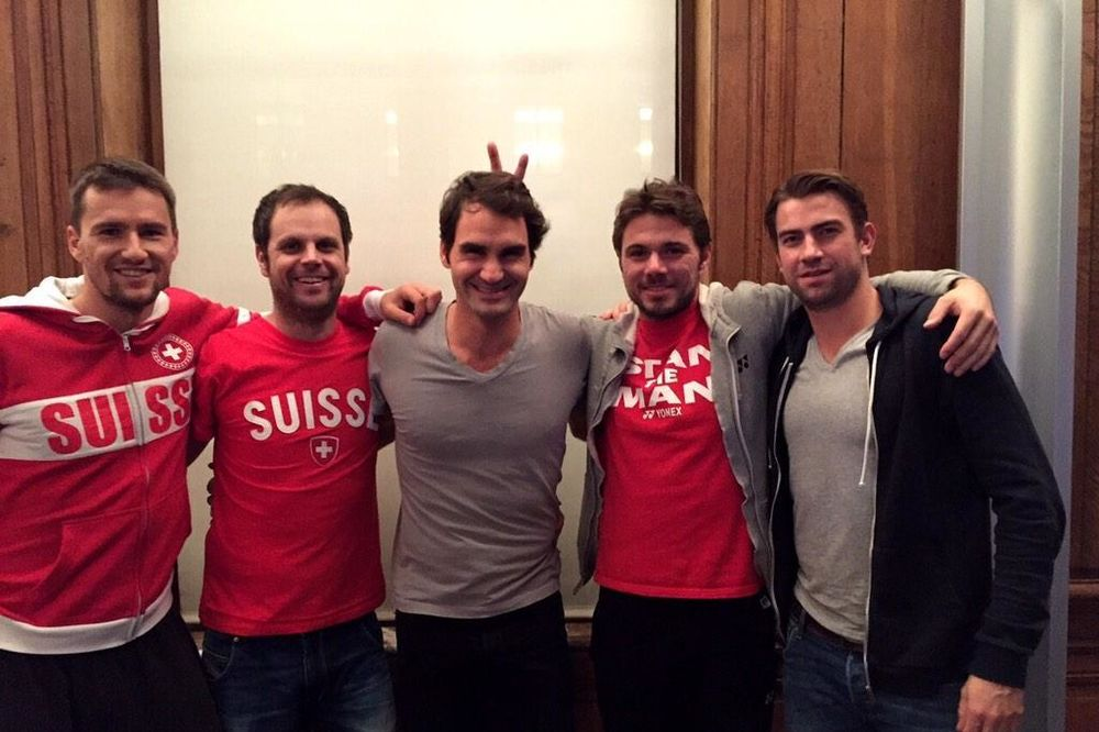 MIRKA NAPRAVILA HAOS: Federer se nije pojavio na treningu pred finale Dejvis kupa