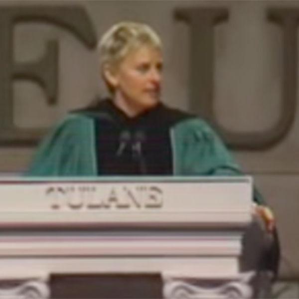 Elen Dedženeris, Univerzitet Tulejn 2009.