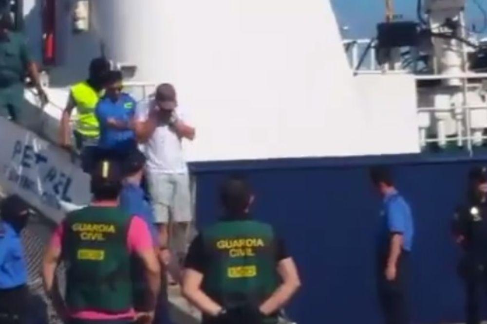 (VIDEO) Ovako je uhapšen Nikola Jevremović sa tonom kokaina u Španiji!