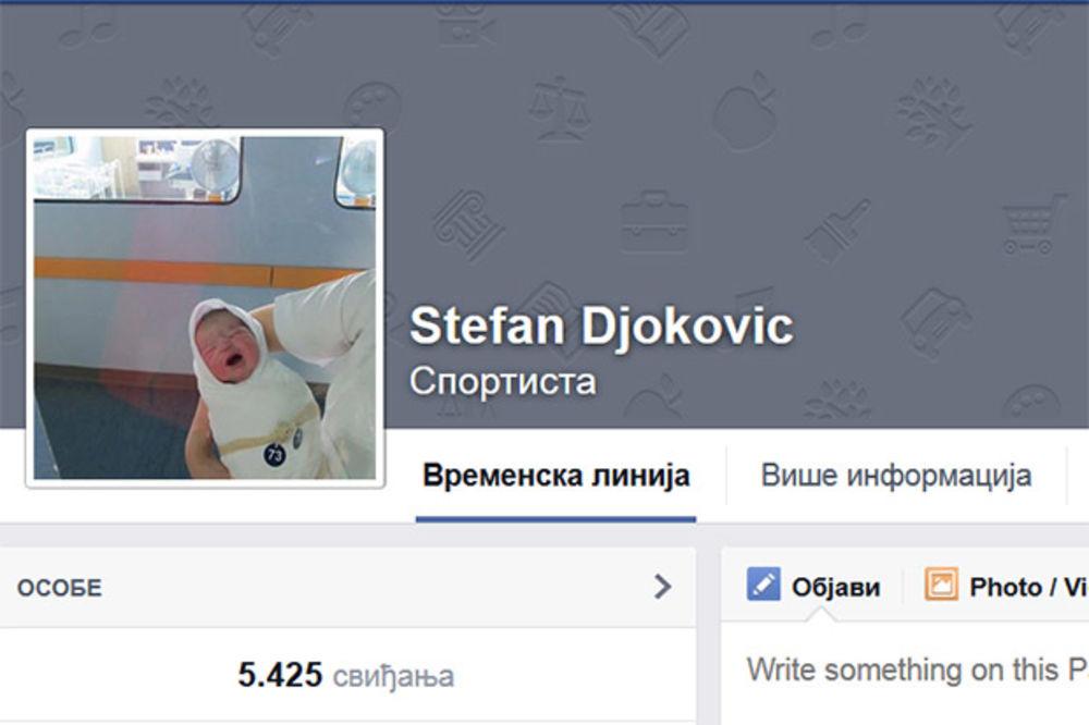 KAKAV OTAC TAKAV SIN: Stefan Đoković dominira na društvenim mrežama