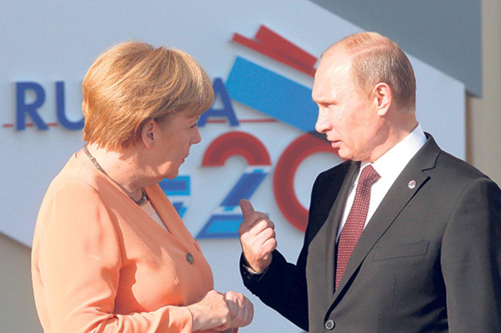 Merkelova štiti Srbiju od Putinovih pritisaka