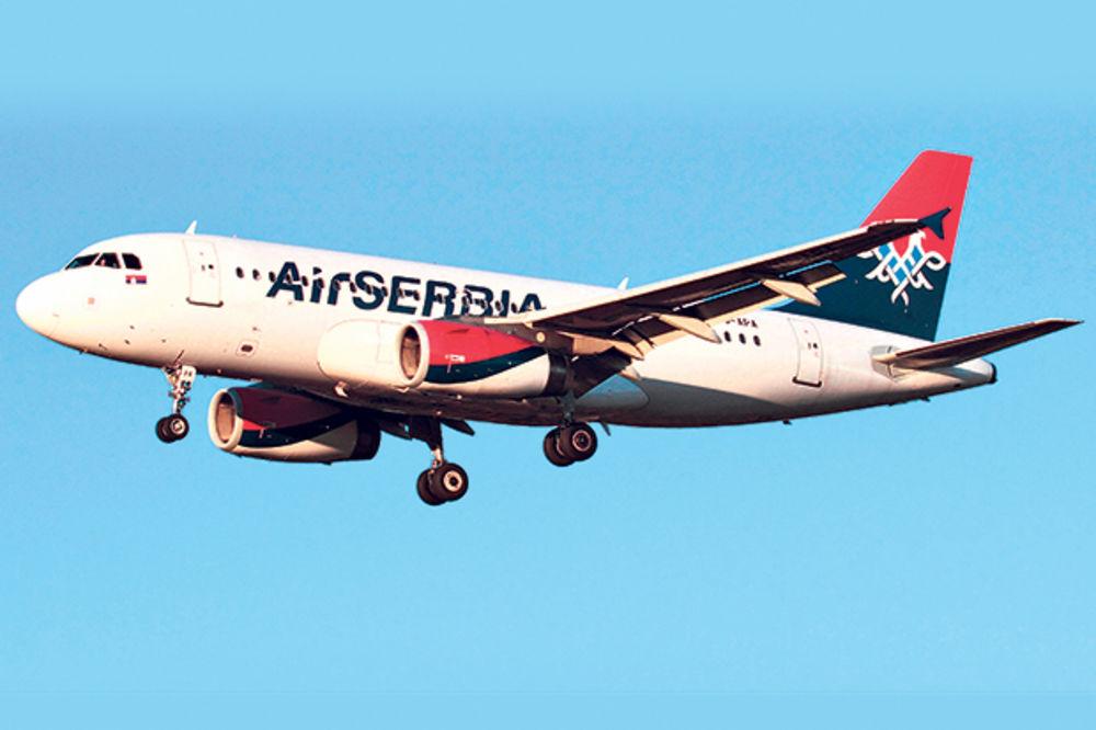 NEVREME U TIVTU: Avion Er Srbije preusmeren u Podgoricu!