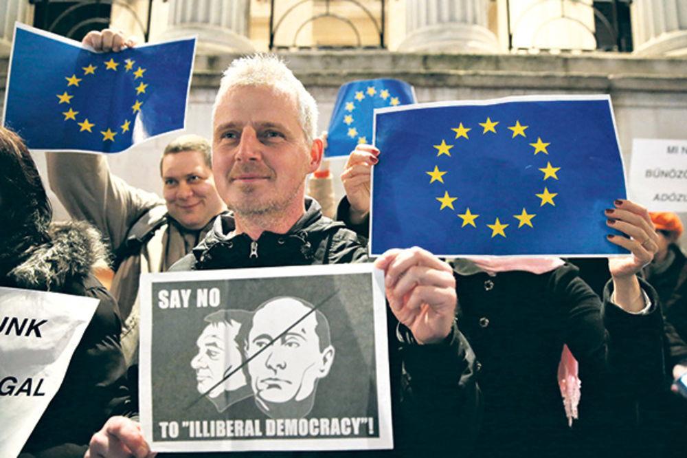 PROTESTI U TRI ZEMLJE: Ne želimo da nas vodite ka Putinu!
