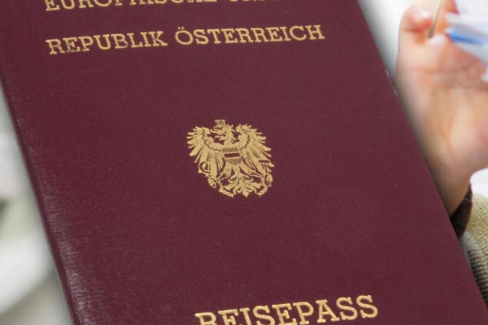 NA KAŠIČICU: Austrijski pasoš za godinu dana dobilo samo 7.000 stranaca!